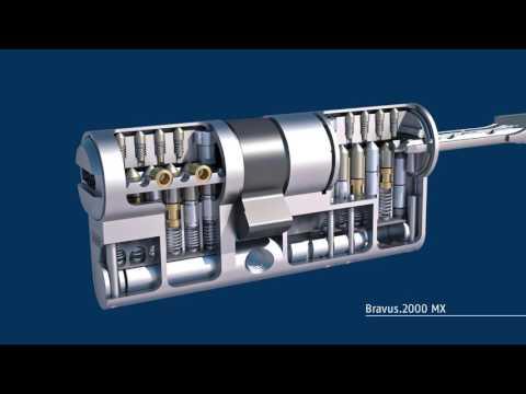Ajustement de la longueur du cylindre Bravus MX Abus