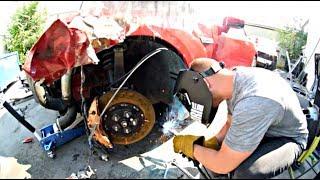 Totaled Nissan GT-R Rebuild - Part 3