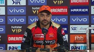Didn't finish well in last three overs - Rashid Khan