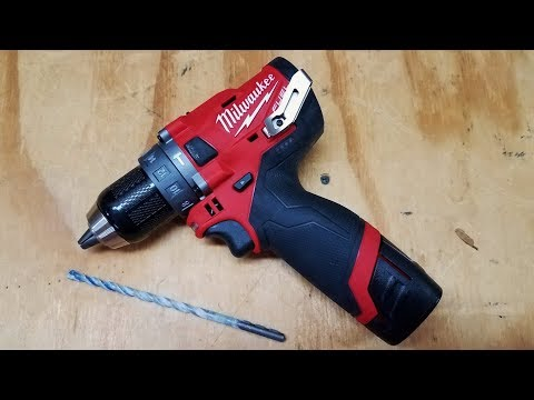 Milwaukee M12 Gen 2 FUEL Hammer Drill Review