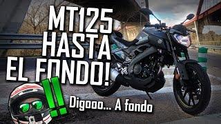 Yamaha MT125 - Review ¿Hace Caballitos? ¿Velocidad Máxima?