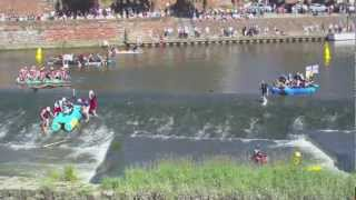 preview picture of video 'Chester Raft race 2011'
