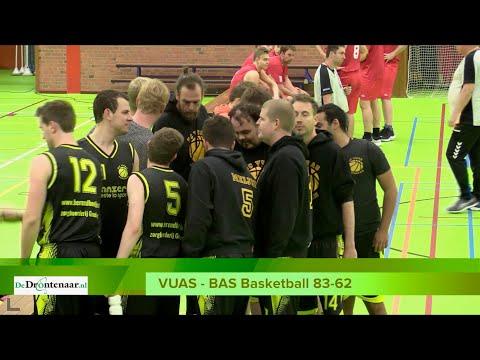 VIDEO | De scherpe kantjes zijn er wel een beetje af bij de basketbalderby tussen VUAS en BAS