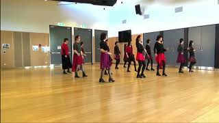 Without a view - Line Dance - Demo by NZ Monday Vivace