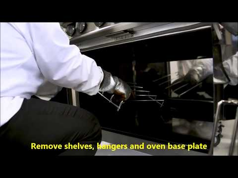 Dominator Plus G3101/P 6 Burner Propane Gas Oven Range With Castors & Splashback Product Video
