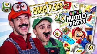 Mario Plays Super Mario Party