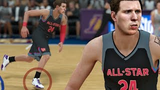 LAVAR BALL SENDS ME NEW BBB SHOE TO WEAR IN ALL STAR GAME! NBA 2K18 My Career