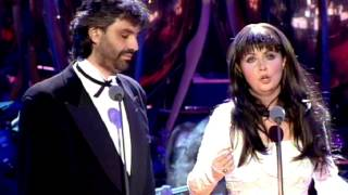 Por Ti Volare - En Vivo - Andrea Bocelli feat. Sarah Brightman (Video)