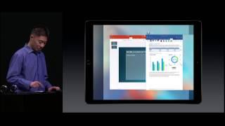 Microsoft Office Demo on iPad Pro