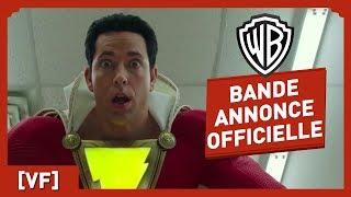 Shazam - Bande Annonce Officielle Comic-Con (VF) - Zachary Levi