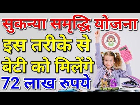 Sukanya Samriddhi Yojana 2019 Account Calculation in Hindi | सुकन्या समृद्धि योजना Scheme Calculator