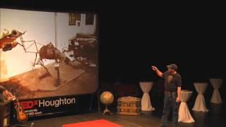 Envisioning Potentials As A Found Object Artist: Ritch Branstrom At TEDxHoughton