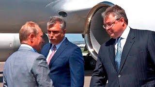 Владимир Путин прилетел в Ставропольский край на форум «Машук»