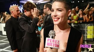 Halsey Dishes On The Meaning Behind Her New Album Badlands At The MTV VMAs