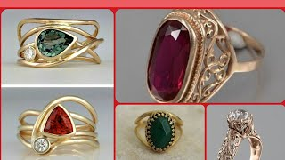 Decent Delicate Lightwait Gold Gemstone Rings Designs Engagement Ring Designs Ruby Rings Earrings