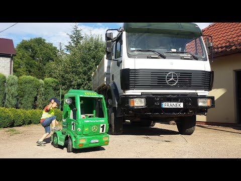 Master Truck - Toy Electric Truck Mercedes Benz