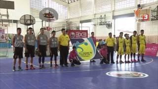 OBEC Youth Street Basketball 2016 Inspired by Thai PBS - กติกาบาส สนามที่2 ชิงแชมป์ภาคใต้