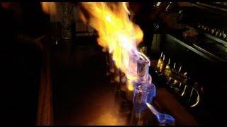 Flaming Dr. Pepper - Touche, Austin