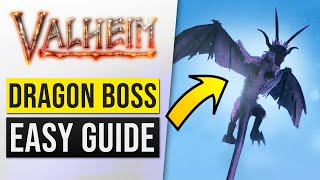 Valheim 4th Boss Mountain Location Guide: How to Summon & Kill MODER Dragon (SOLO Combat Gameplay)!