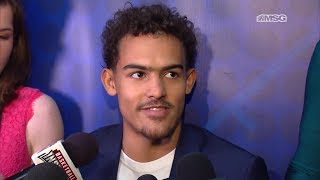 Trae Young Eager To Show He Can Play at NBA Level   New York Knicks   MSG Networks