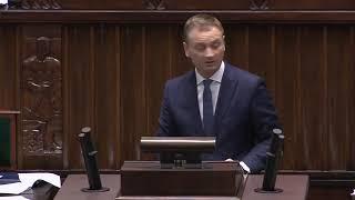 Nitras dziś w Sejmie zaorał twórców ustawy represyjnej.