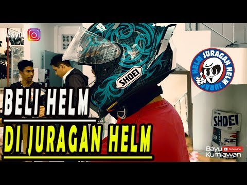 UNBOXING SHOEI X14 || JURAGAN HELM