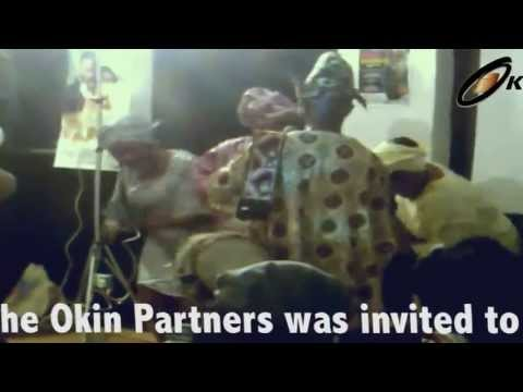 Nigerian Tribal Talking drum with dancing - Movie Premiere London Outing 2012