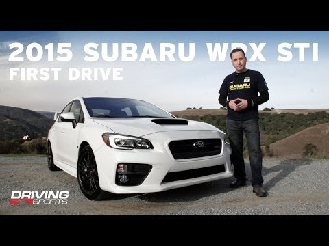 2015 Subaru WRX STI Reviewed and Driven