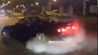 BMW e36 Ankara/Turkey  06 ya 6852 Cabriolet Drift Show