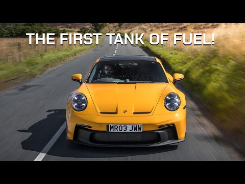 FIRST DRIVE In My New Porsche 992 GT3 - The Best First Tank Of Fuel!