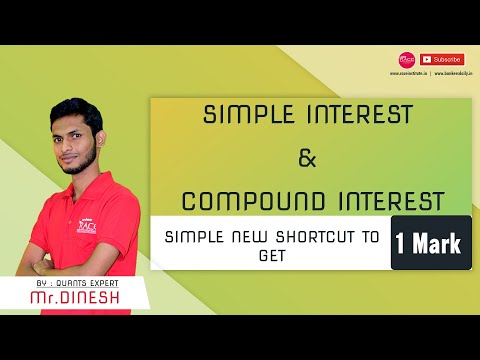 Simple Interest & Compound Interest Shortcuts | New Method | Race RED Team