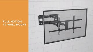 Extra Long Arm Full-Motion TV Wall Mount- LPA49-483XLD