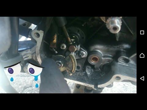 Vespa LX 50   Scheunenfund   Teil 5  Ölpumpenriemen   Keilriemen   Gewichte wechseln
