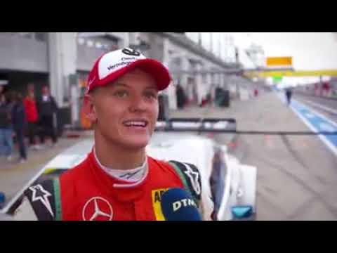 #F3 - Mick Schumacher testing a DTM car at Nürburgring