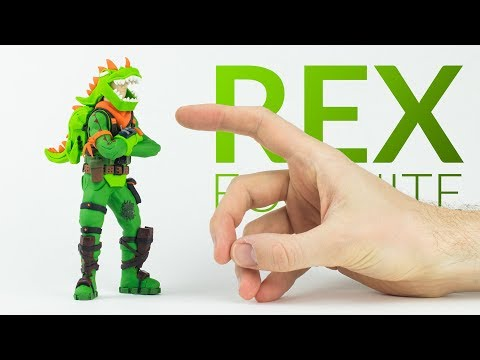 Rex (Fortnite Battle Royale) – Polymer Clay Tutorial
