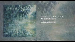 Violin Sonata no. 9 'Kreutzer', Op. 47