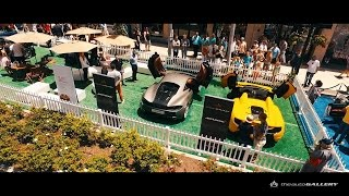 Pagani Huayra, McLaren 570S and FIAT 500X hit the 2015 Rodeo Drive Concours