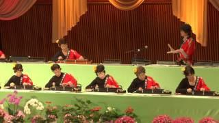 「まつり」第10回琴伝流シニアコンサートin軽井沢 大正琴演奏