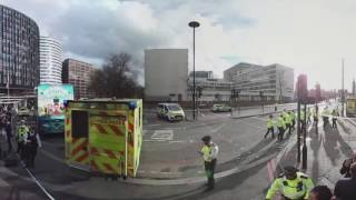 UK: 360° video shows scene of Westminster terror attack
