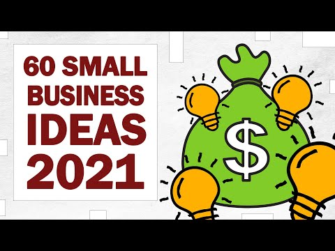 , title : '60 Small Business Ideas for Starting Your Own Business in 2021