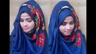 Easy Hijab Style with Simple Headpiece | Eid Special | Girls Beauty Tips