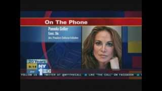 Pamela Geller on NY1 The Call responding to Hamas-CAIR