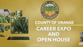County Of Orange Career Expo And Open House Part 2