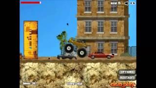 Мультики про машинки. Монстр-трак (Monster Truck). Ігри гонки на машинках