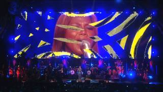 "Queen Latifah performs ""I Know Where I've Been"" at Mandela Day 2009 from Radio City Music Hall"