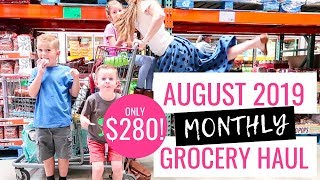 pennies into pearls monthly grocery haul - Thủ thuật máy