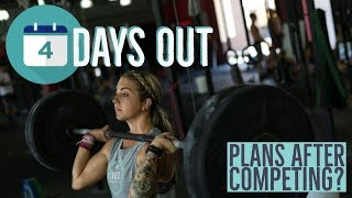 4 DAYS OUT FROM MY FIRST NATIONAL MEET! Plans After Competing, Macros & Reverse Dieting