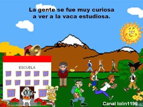 La Vaca Estudiosa Cuento Para Niños смотреть онлайн на