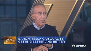 Ron Baron: Tesla car quality getting better and better