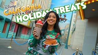 Awesome Holiday Treats At Disney California Adventure!